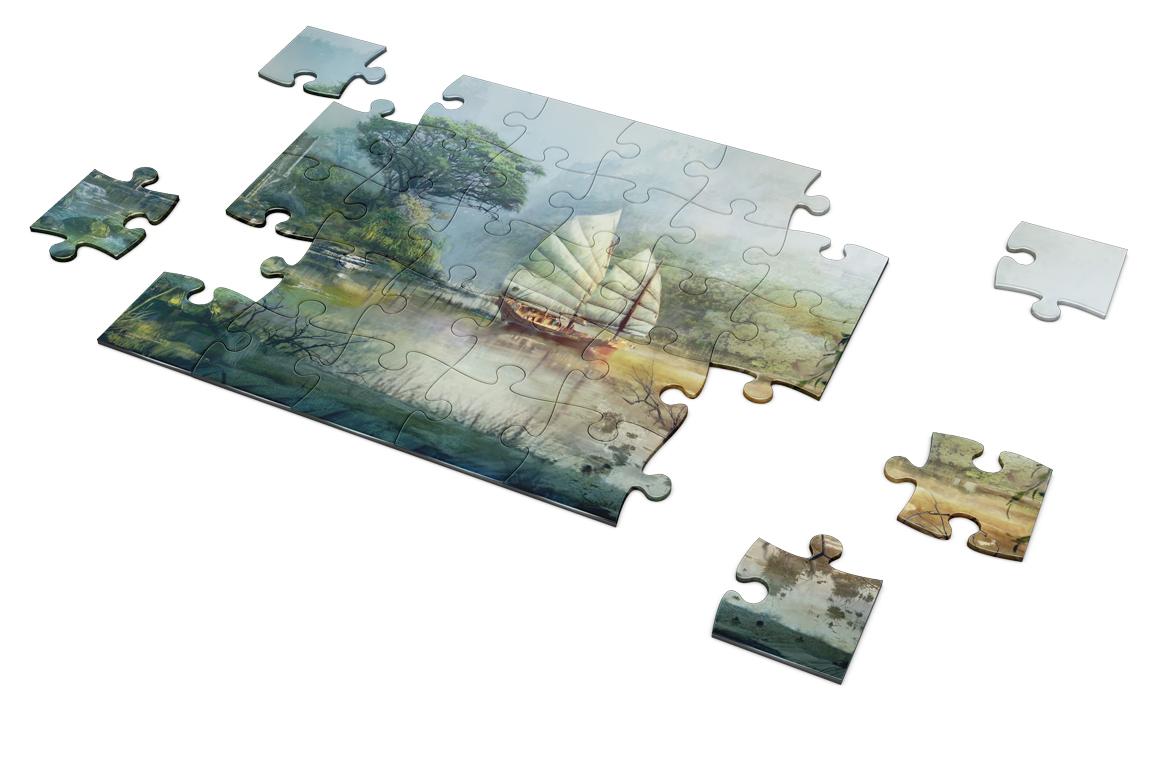 Puzzel Mockup example image 4