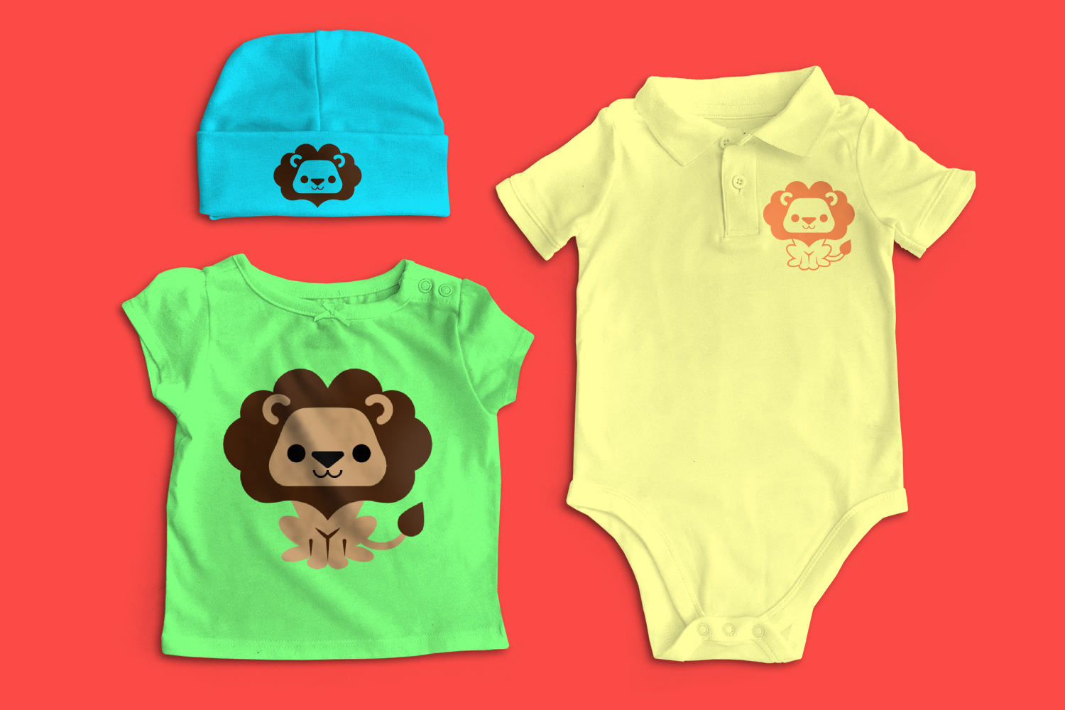 Cute Lion SVG File example image 1