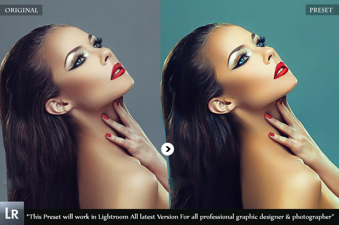 Professional skin Retouch Beauty Preset example image 7