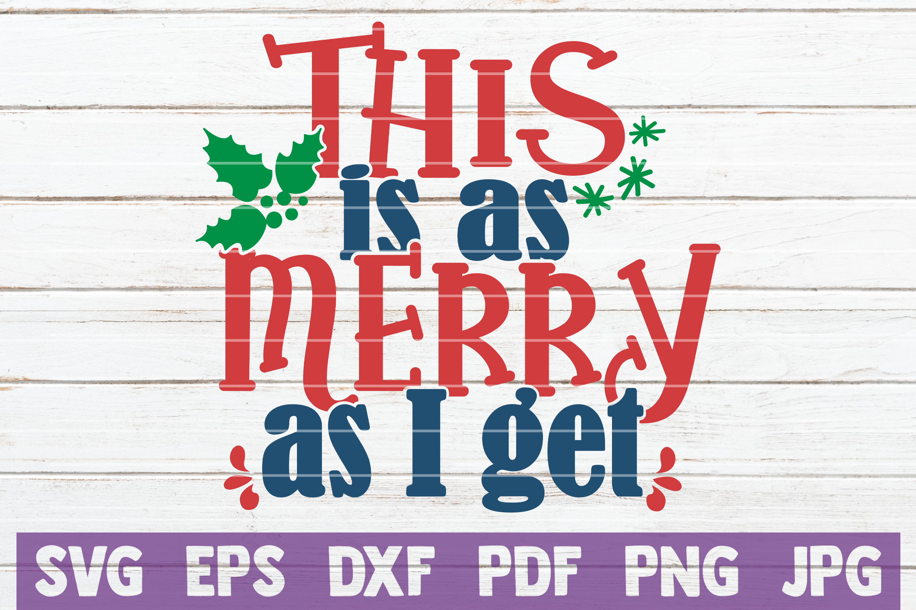 Christmas SVG Bundle | SVG Cut Files example image 16