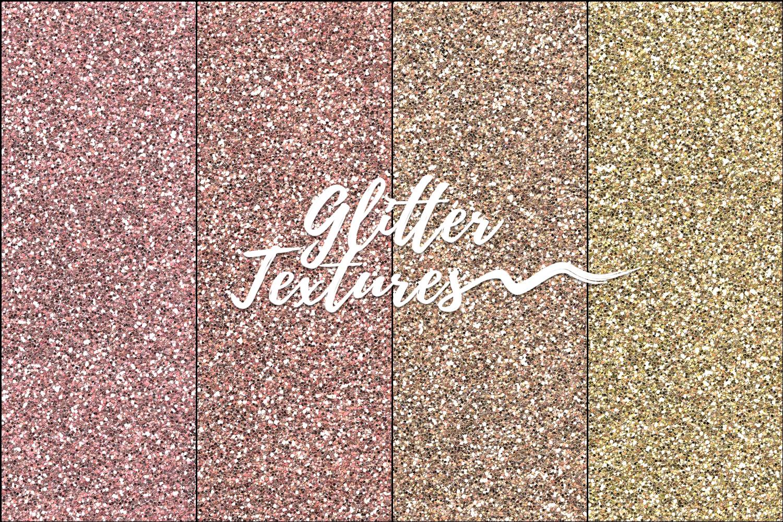 30 Glitter Shades of Rainbow Photoshop Patterns,Backgrounds example image 2