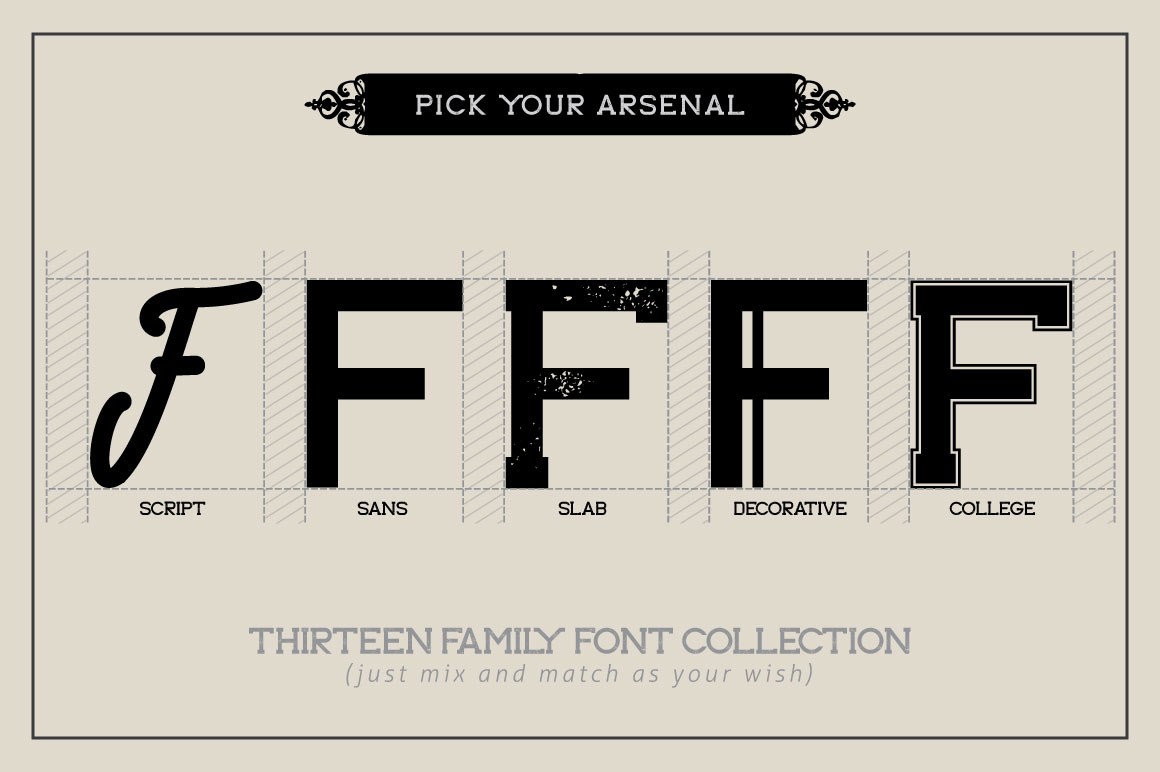 Forester Family Font example image 2