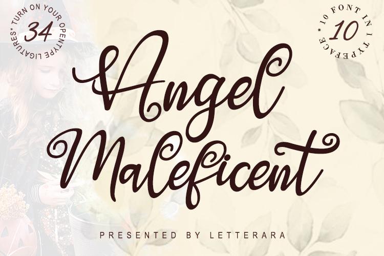 Angel Maleficent example image 1