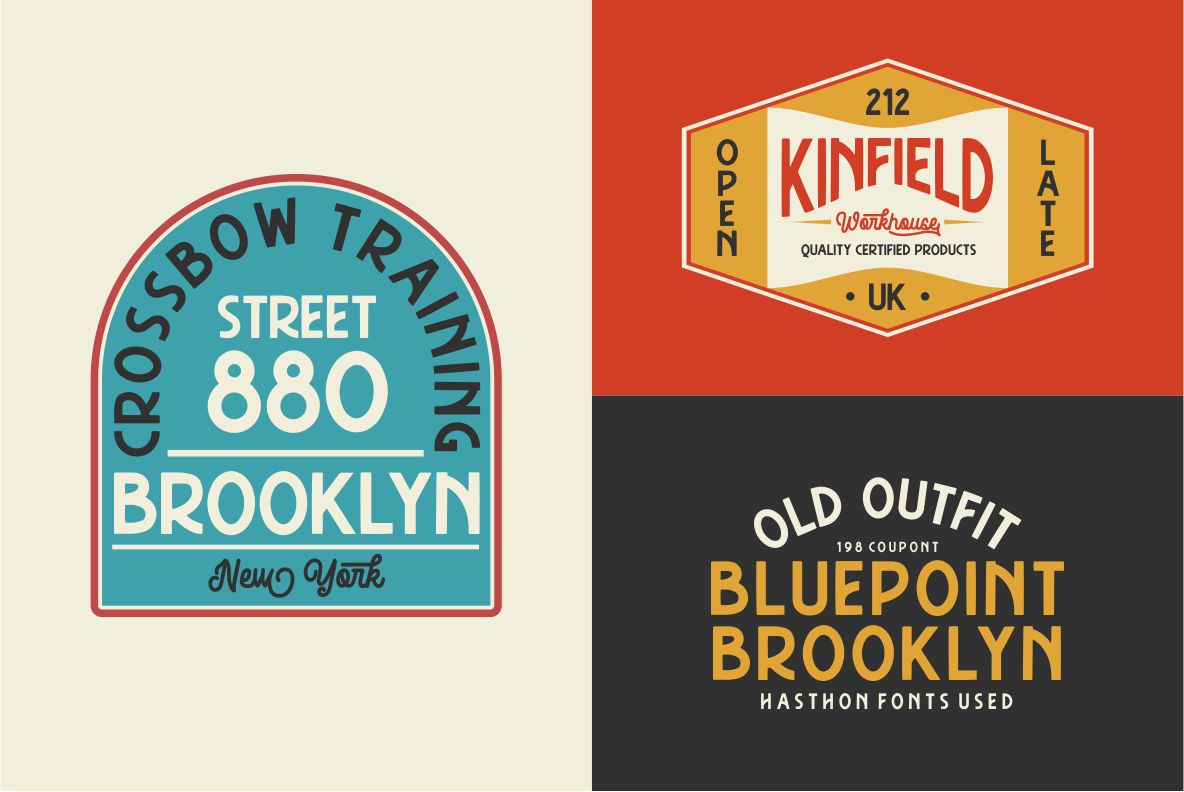 Hasthon - Vintage Fonts example image 9