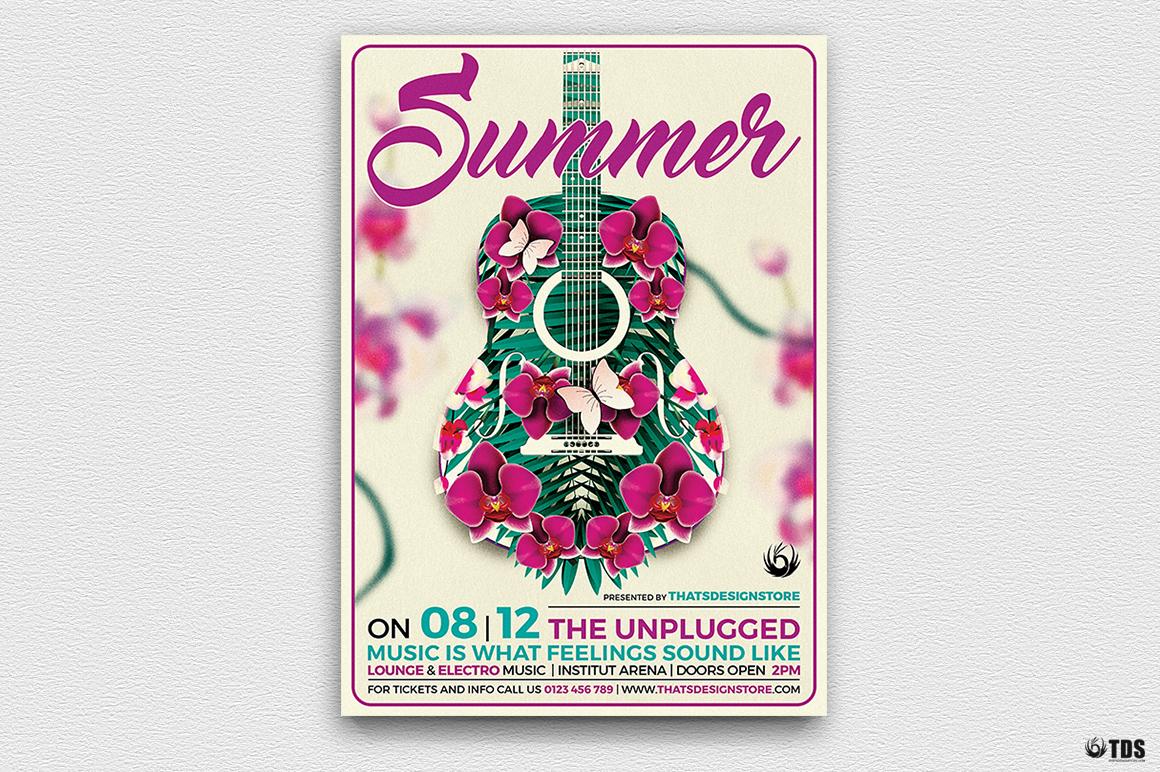 Summer Concerts Flyer Bundle example image 4