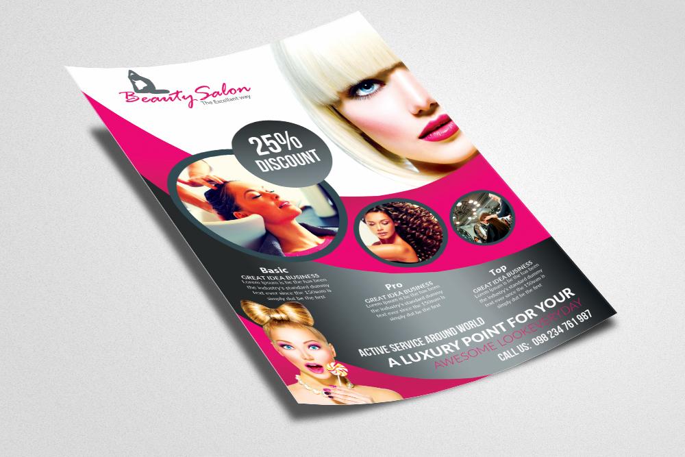 Beauty Salon Flyer Templates 03