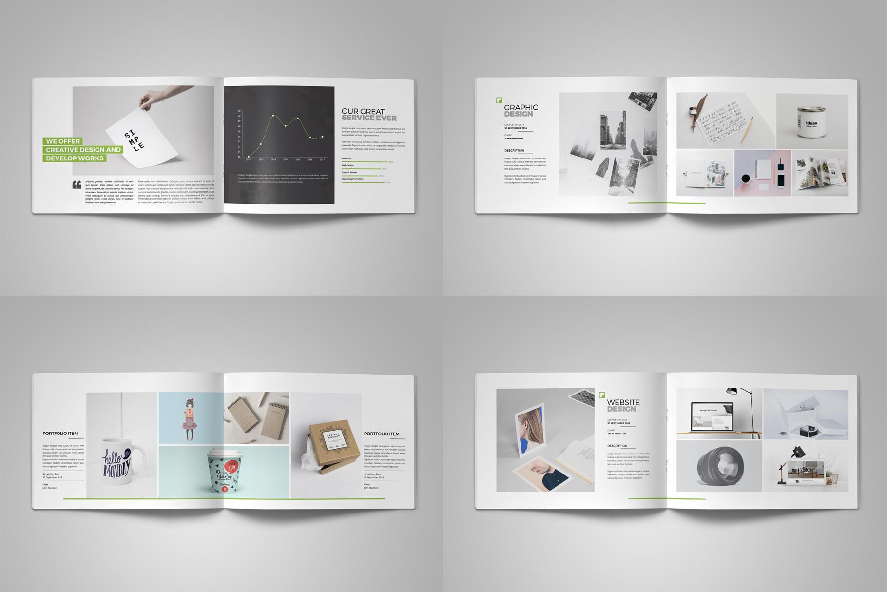 Portfolio Brochure Design v5 example image 16