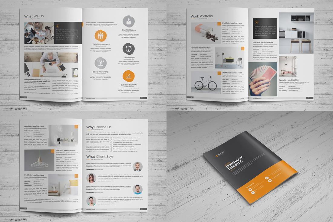 Company Profile Bundle example image 8