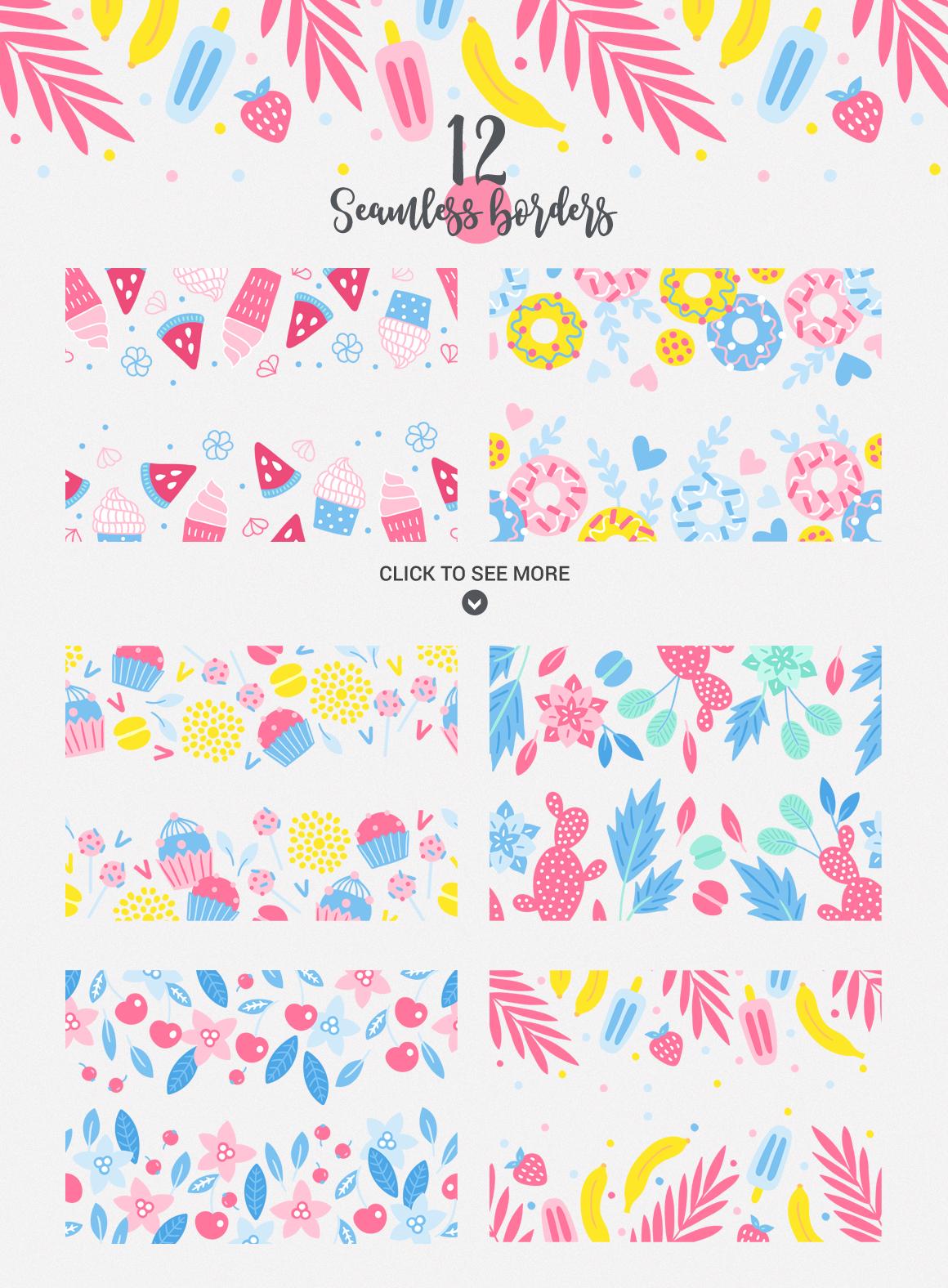 Punchy Pastels Kit example image 5