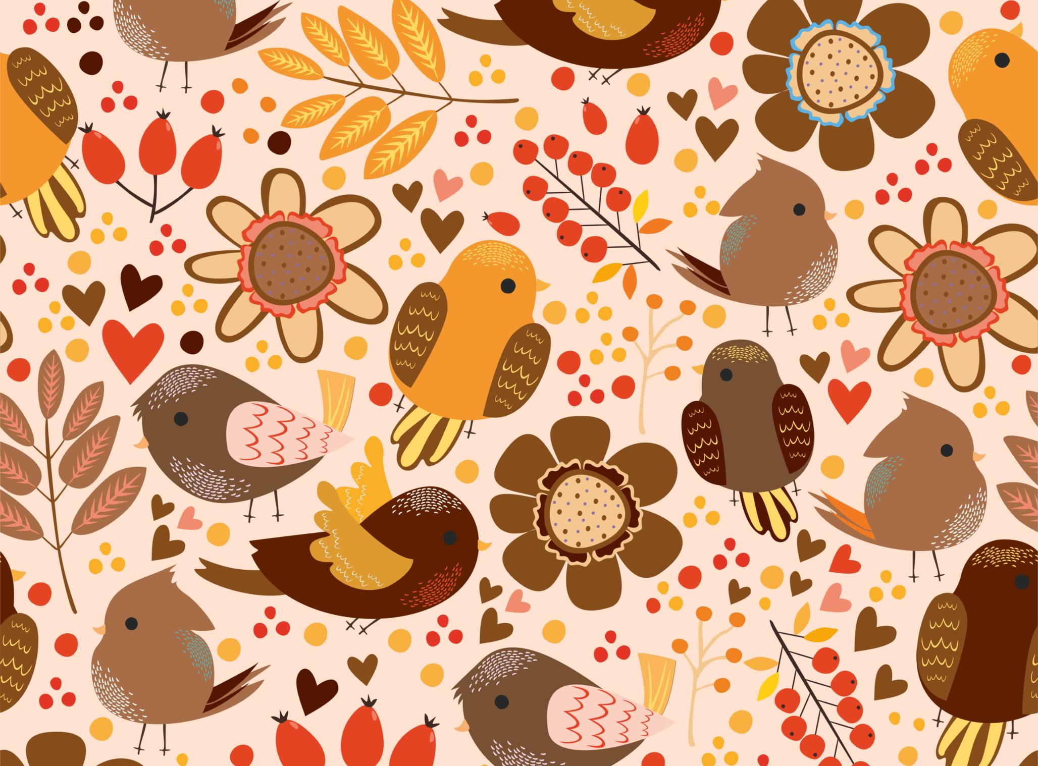 Birds set 2 (vector,jpg,png) example image 4