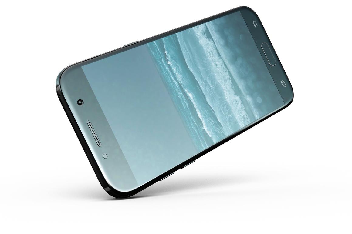 Samsung Galaxy A7 Mockup example image 17