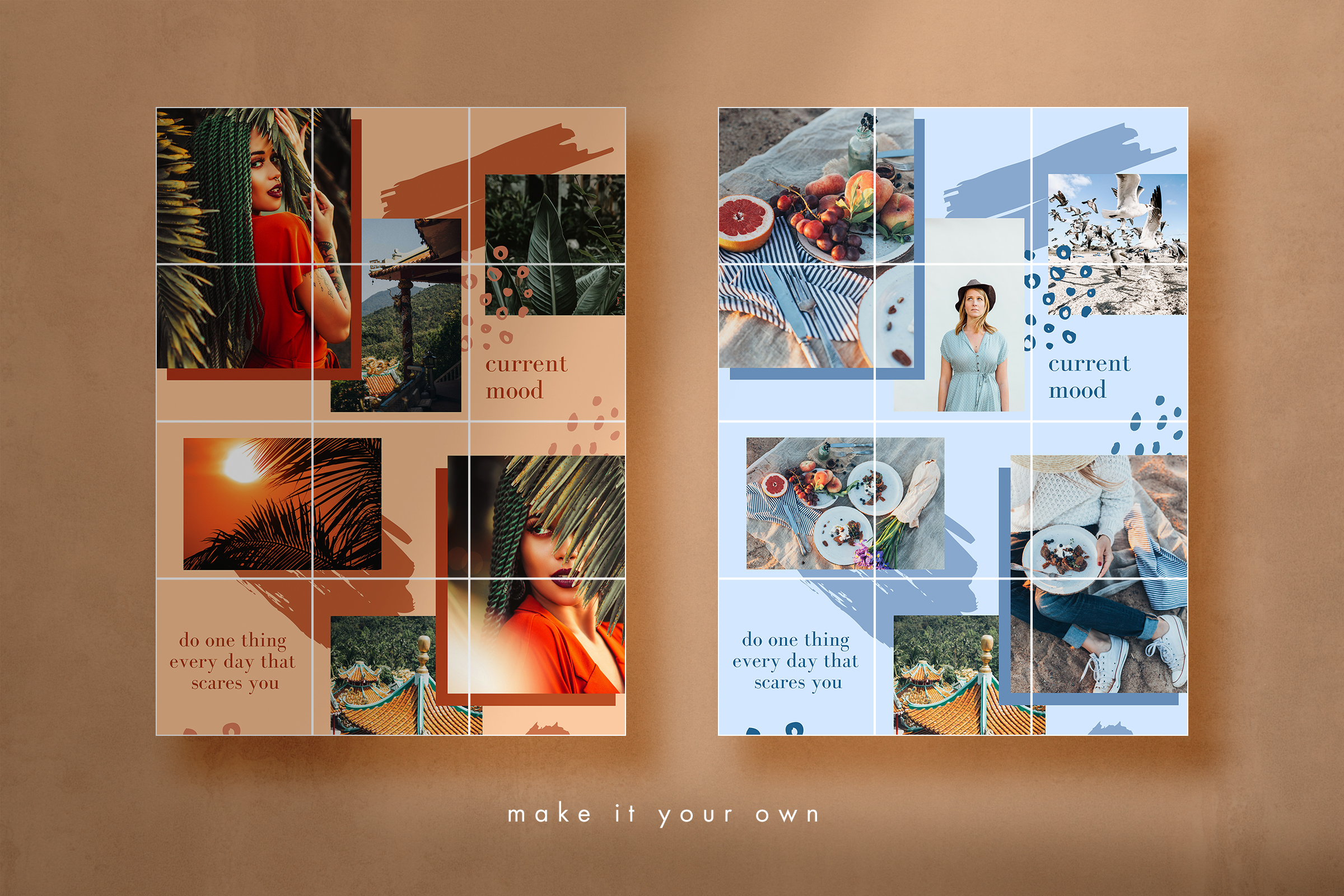 Instagram split grid template for Canva example image 5