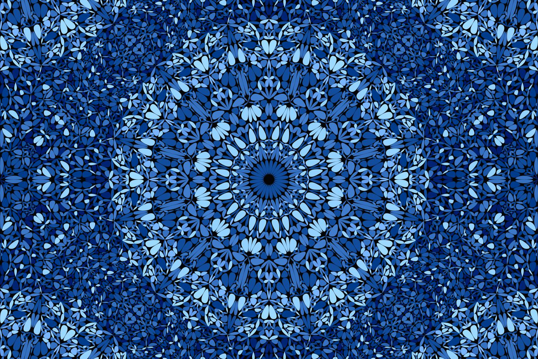 48 Seamless Floral Mandala Patterns example image 14