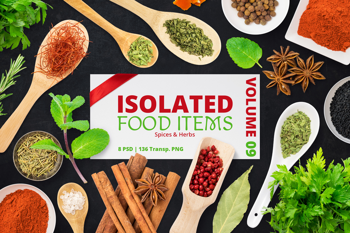 Isolated Food Items Vol.9 example image 1