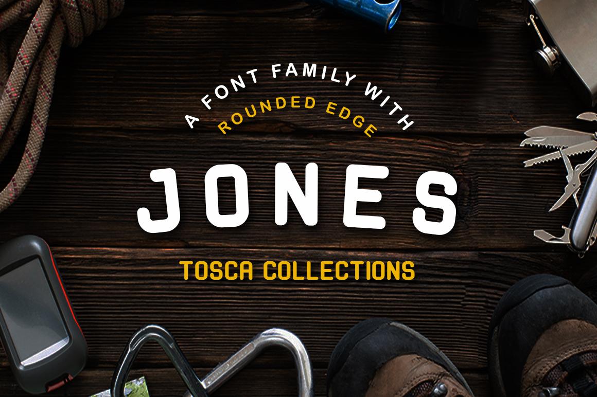Jones Font example image 1