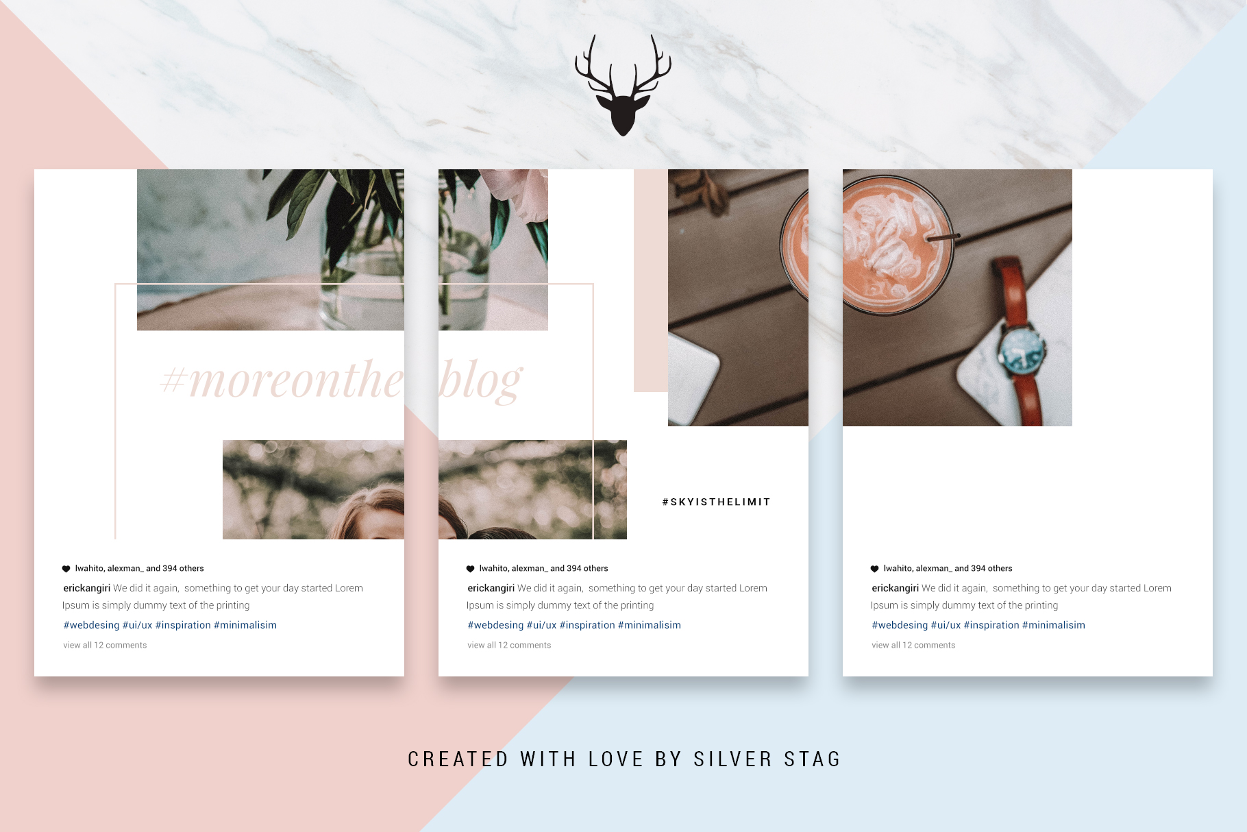 #InstaGrid 1.0 - Instagram Canva Puzzle Template example image 13