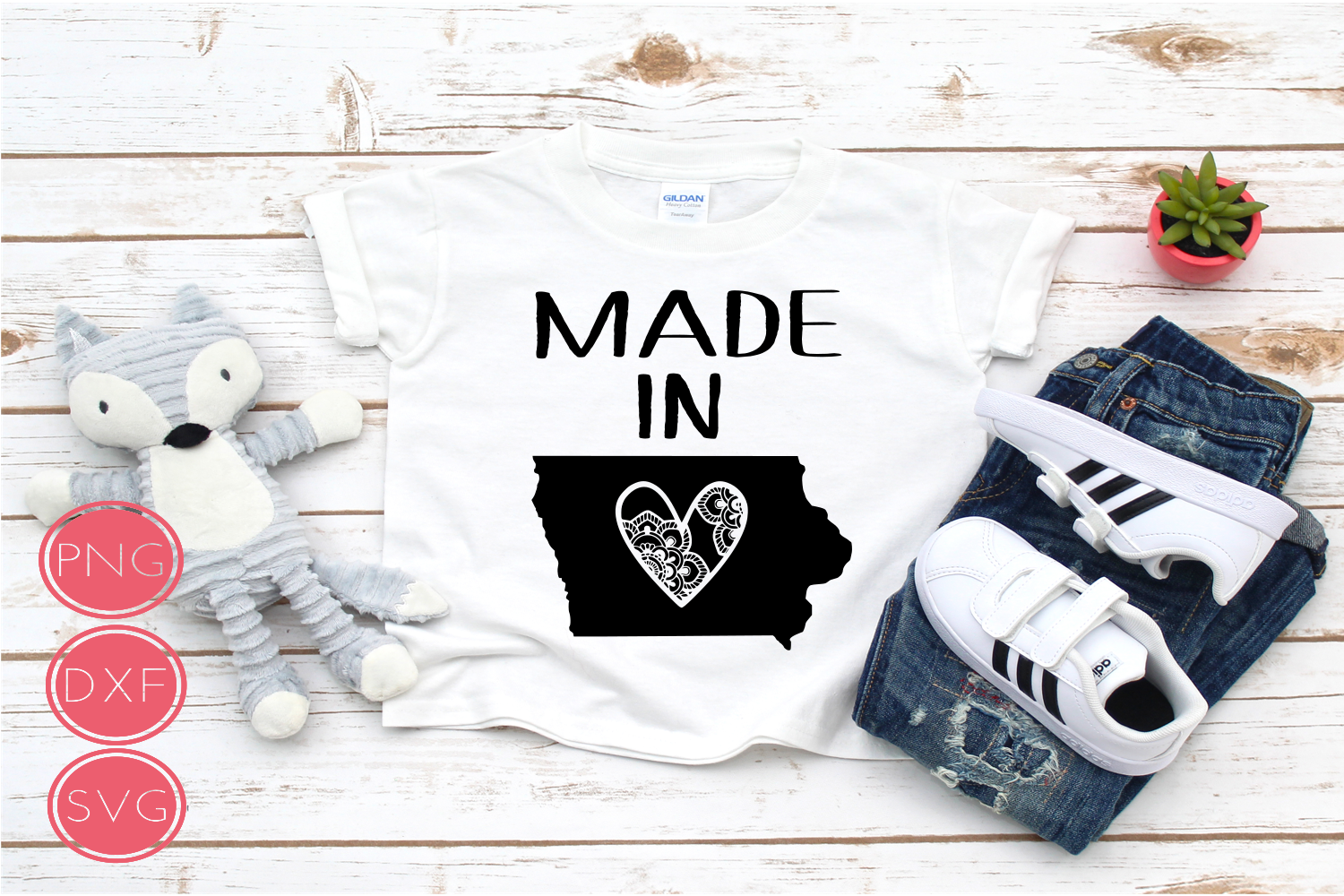 Made in Iowa SVG example image 1