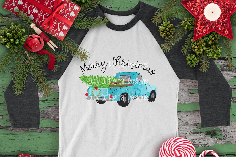 CHRISTMAS - Merry Christmas Truck example image 1