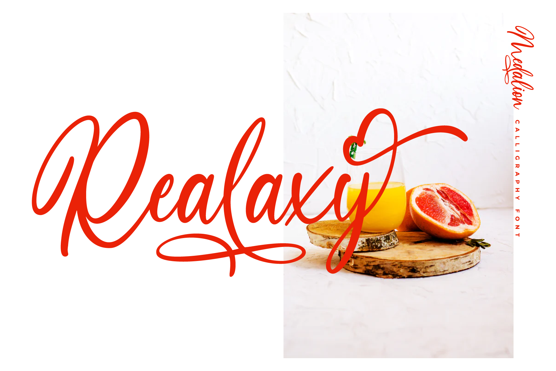 Medalion Calligraphy Font example image 6