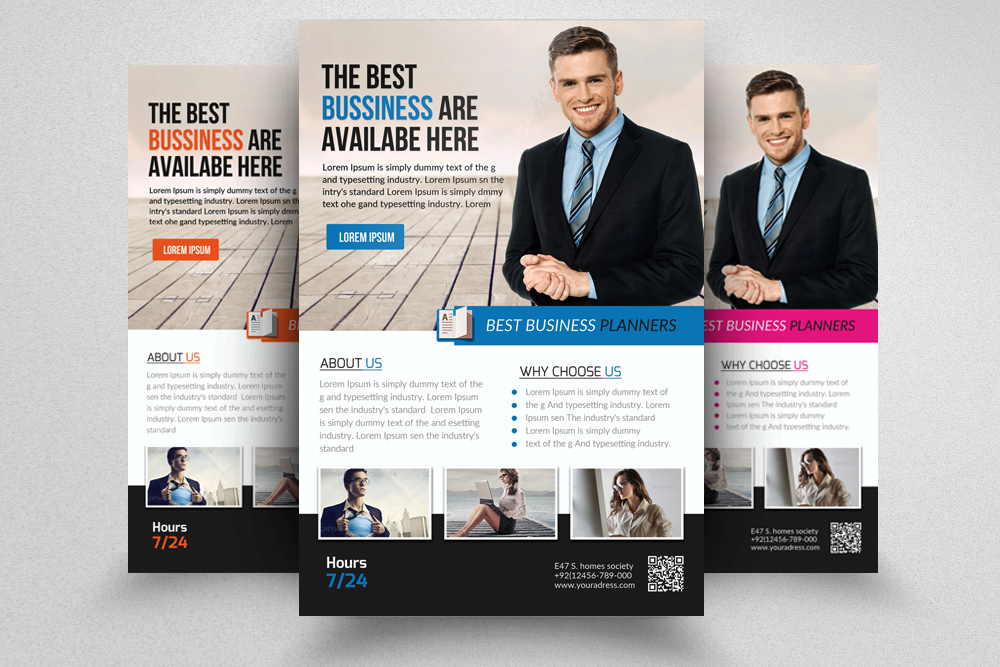 Business Executive Coach Flyer  example image 1