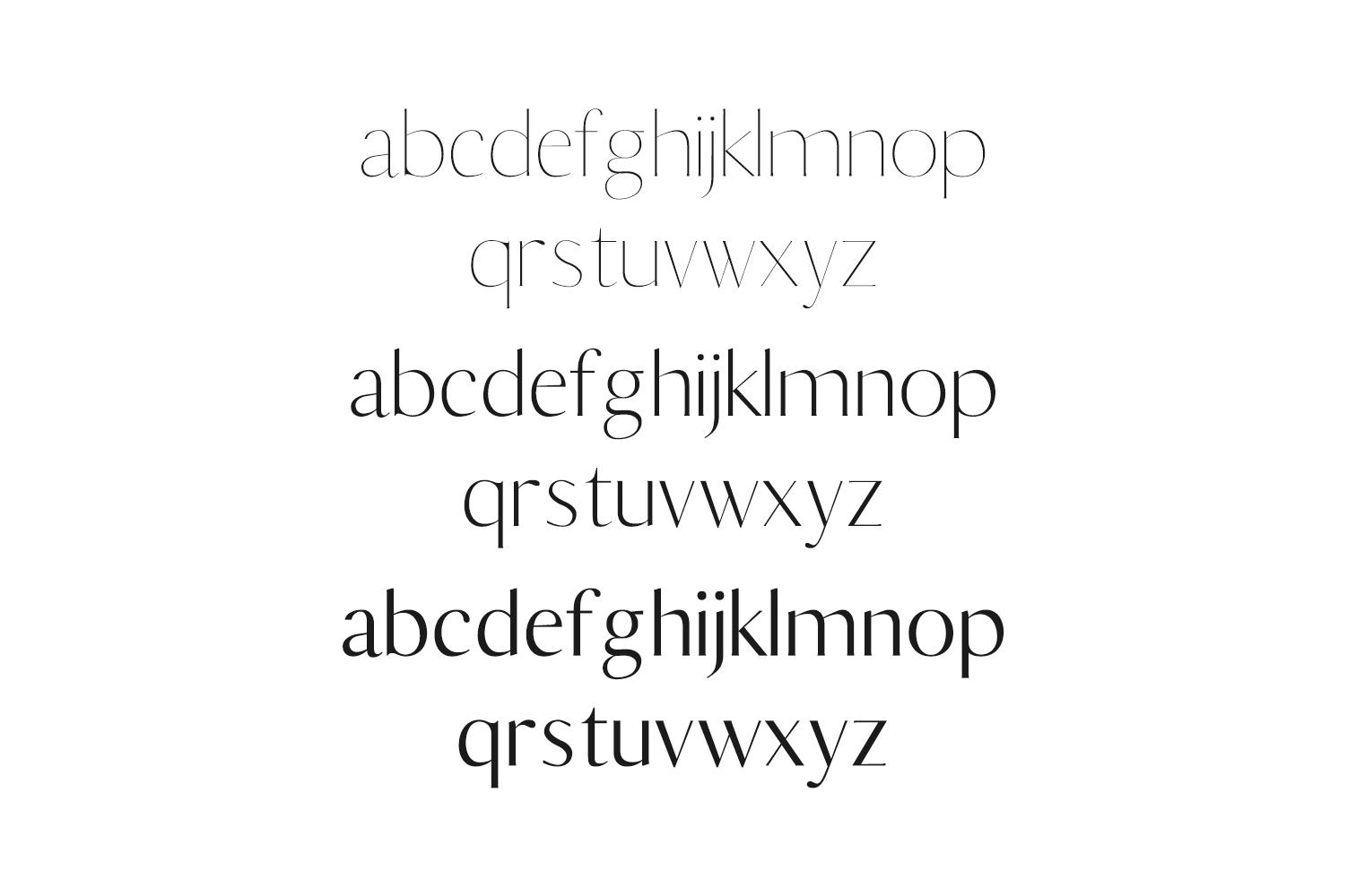 Berton Sans Serif Typeface example image 3