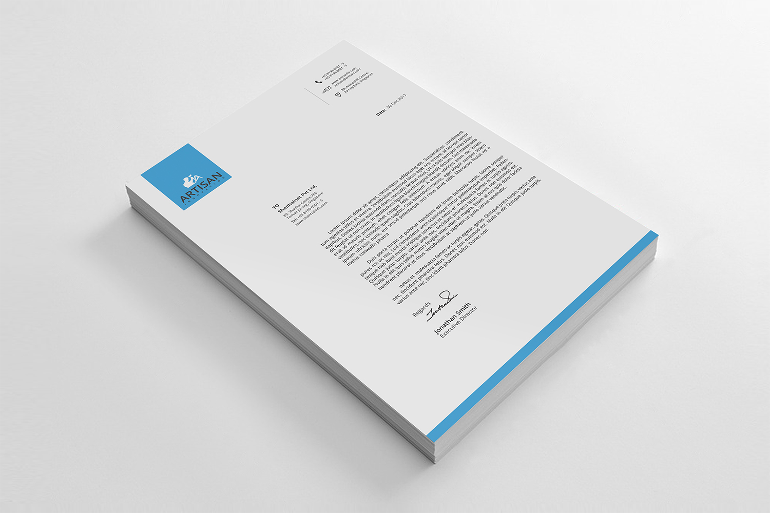 Simple Letterhead Bundle example image 6