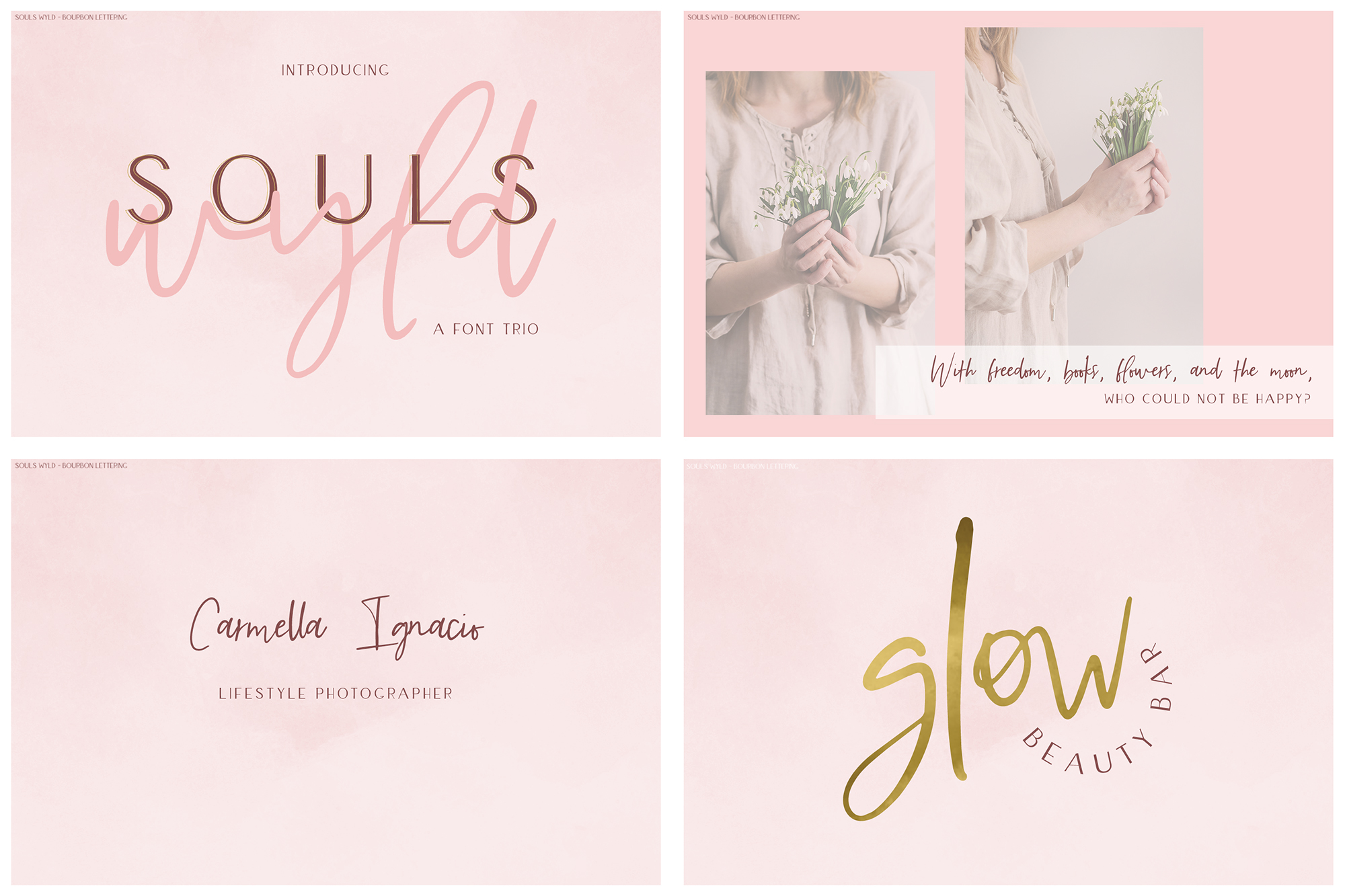 The Handwriting Font Bundle example image 4