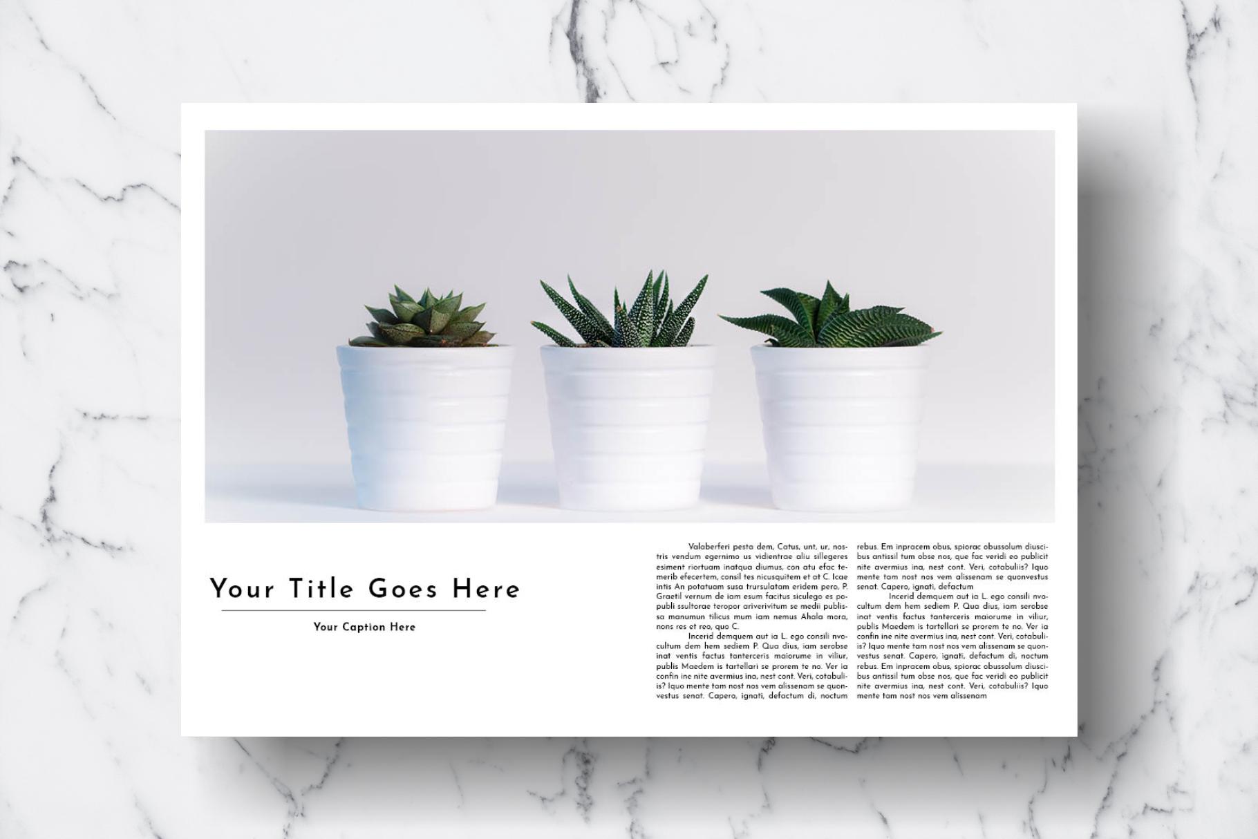 Magazine Template Vol. 17 example image 8