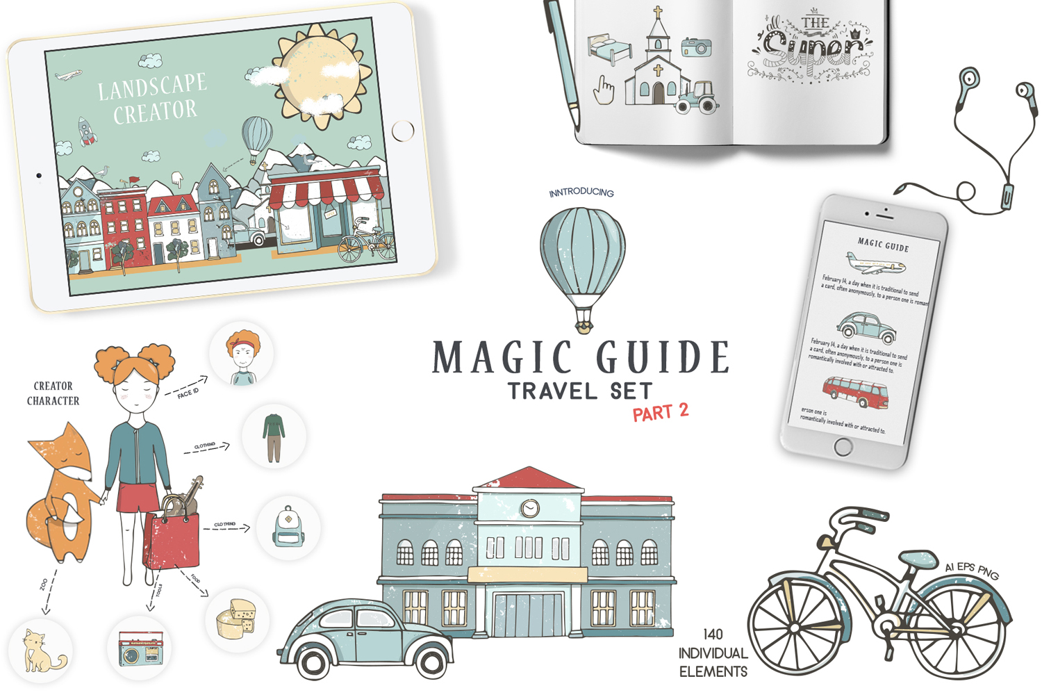 Magic Guide Travel Kit Part 2 example image 1