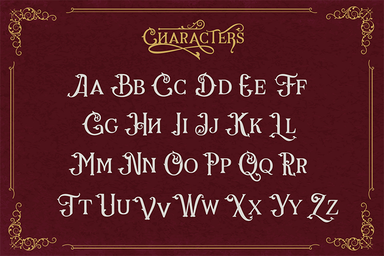 Gorga Font example image 9