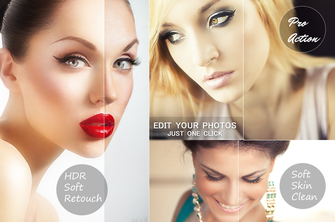HDR Soft Retouch Photo Action example image 2