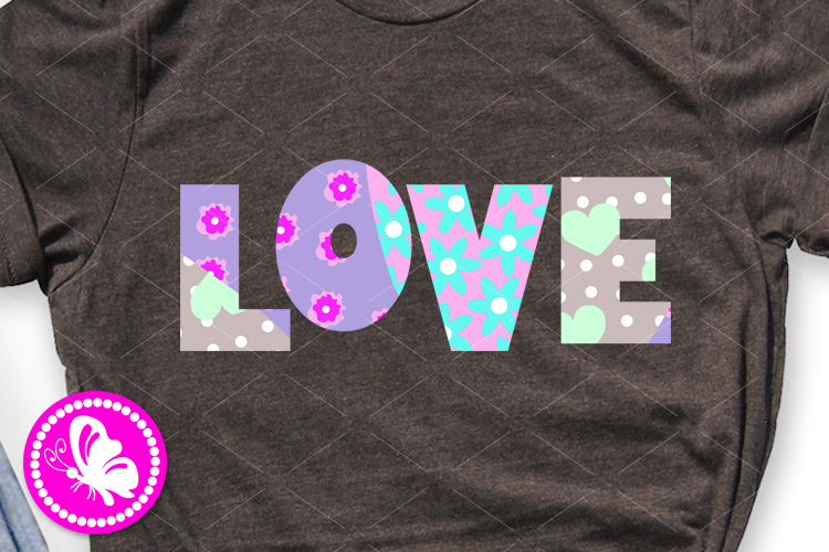 Love sign Sublimation design clipart Valentine's day decor example image 1