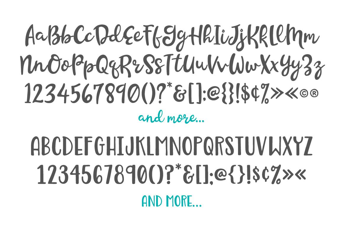 Beachwood Font Duo example image 8