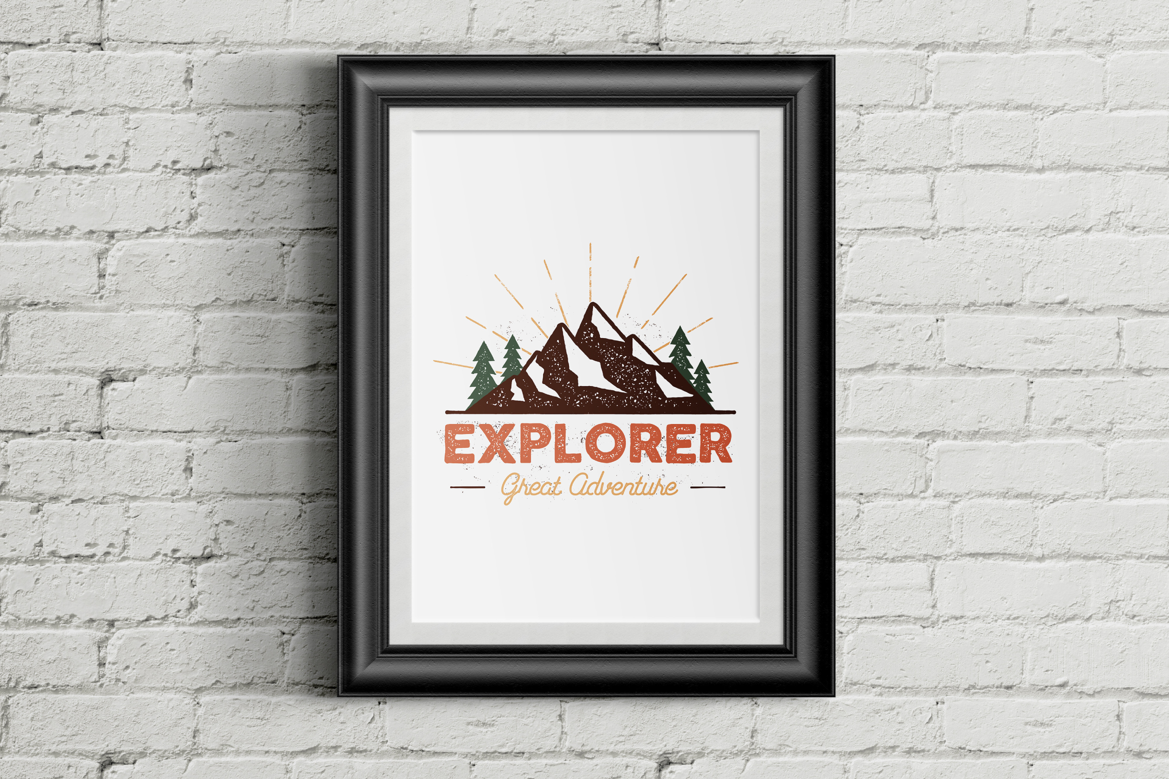 Outdoor Explorer Tee Design example image 5