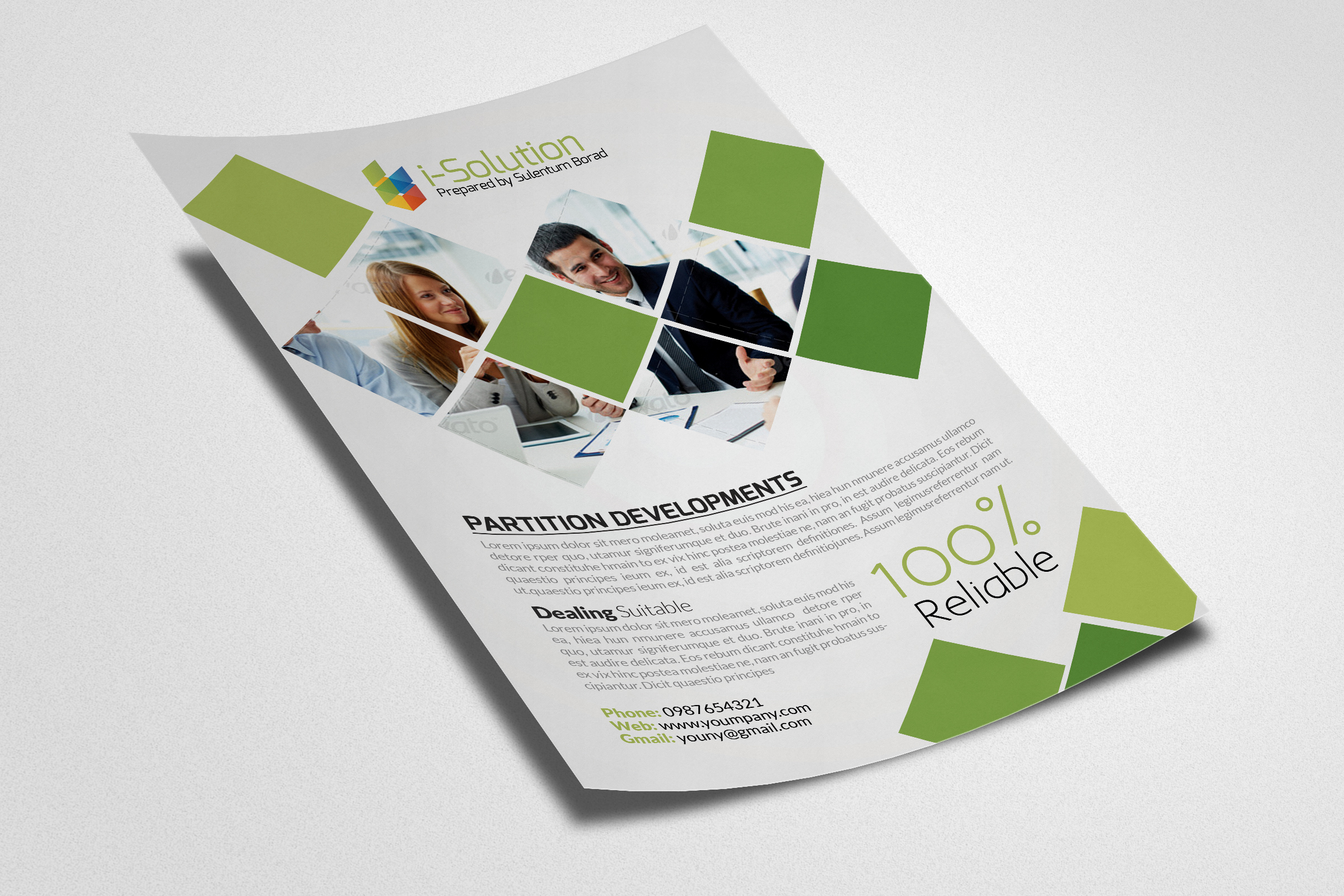 Business Motivator Flyer Template example image 2
