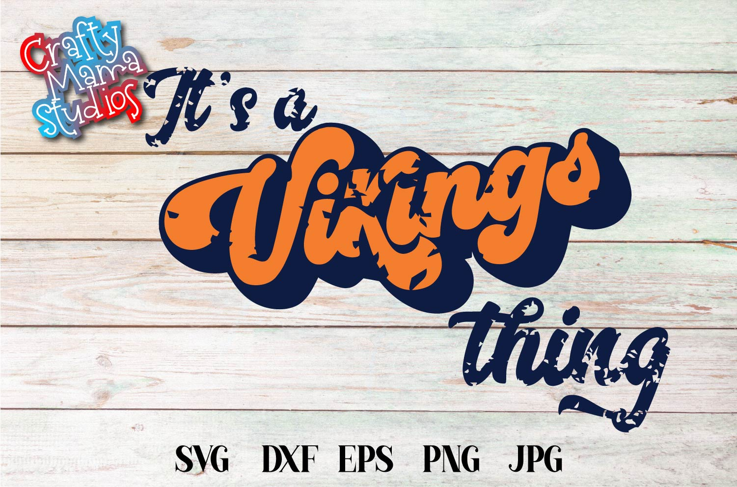 Sports SVG, It's A Vikings Thing SVG, Sports Sublimation example image 2