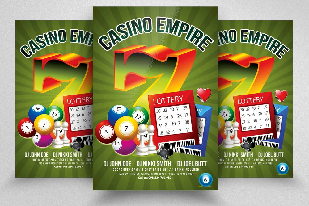 10 Casino Flyers Bundle example image 8