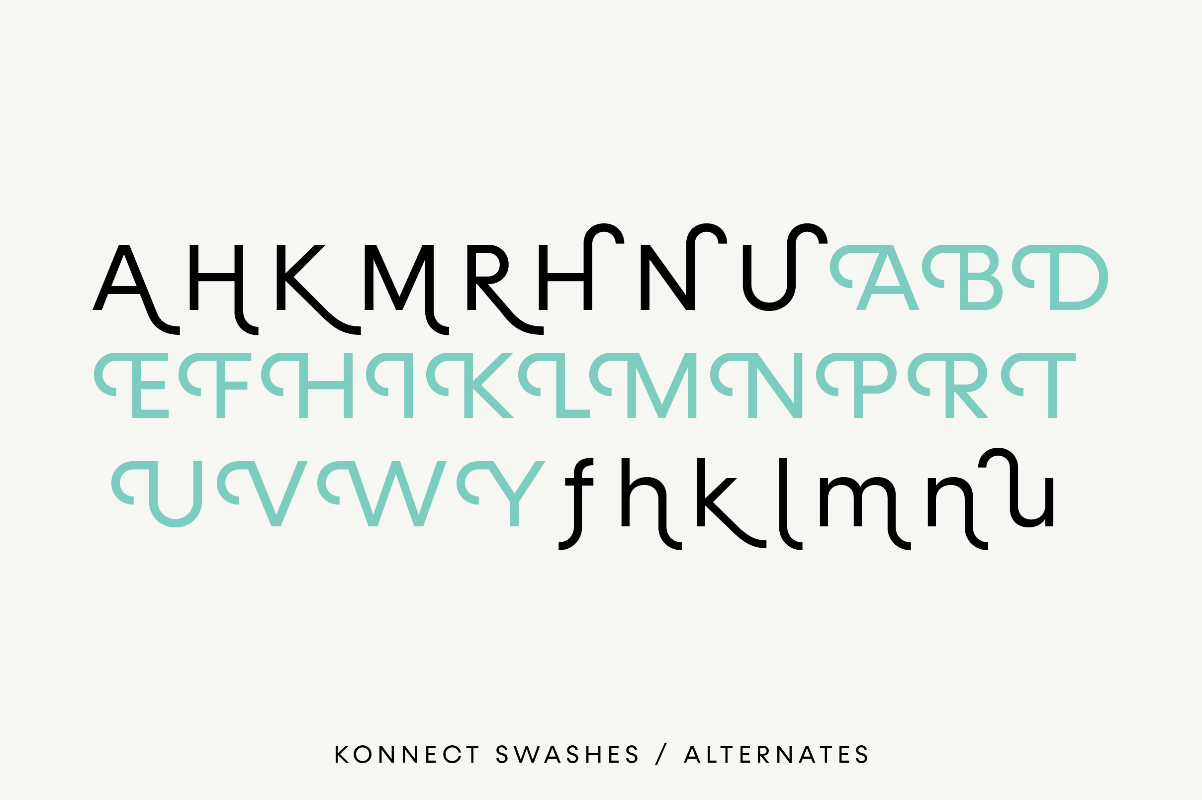 Konnect Regular & Italic Fonts example image 6