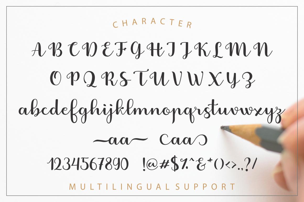 Fabitha Script Upright example image 6