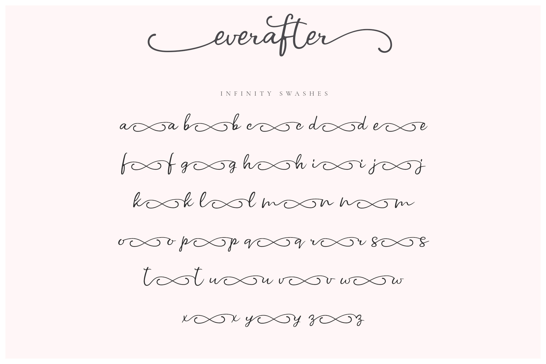 Ever After | A Modern Calligraphy Font example image 8
