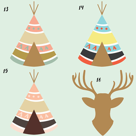 Tribal Clipart example image 7