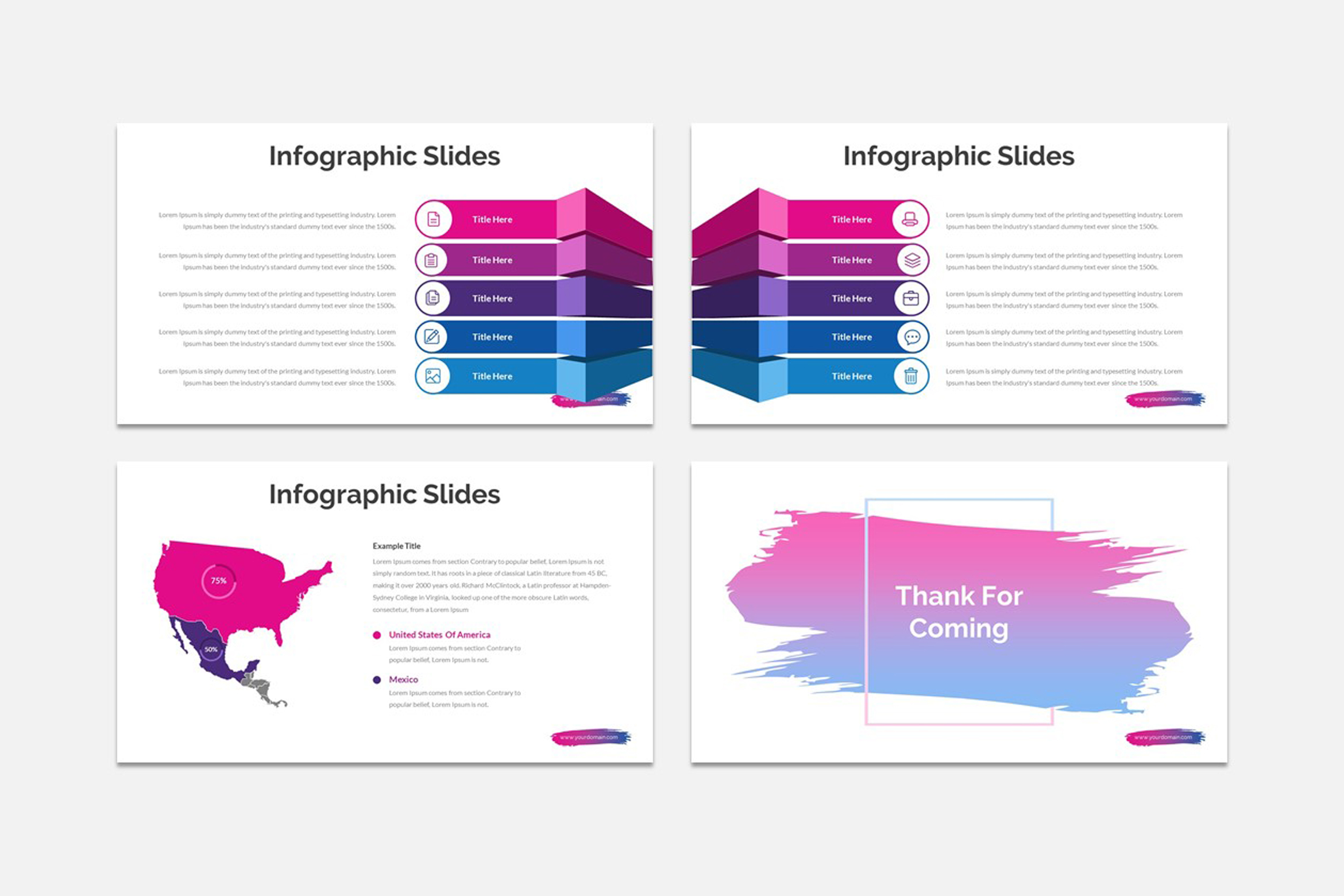 ACCOS - Multipurpose Powerpoint Template example image 3