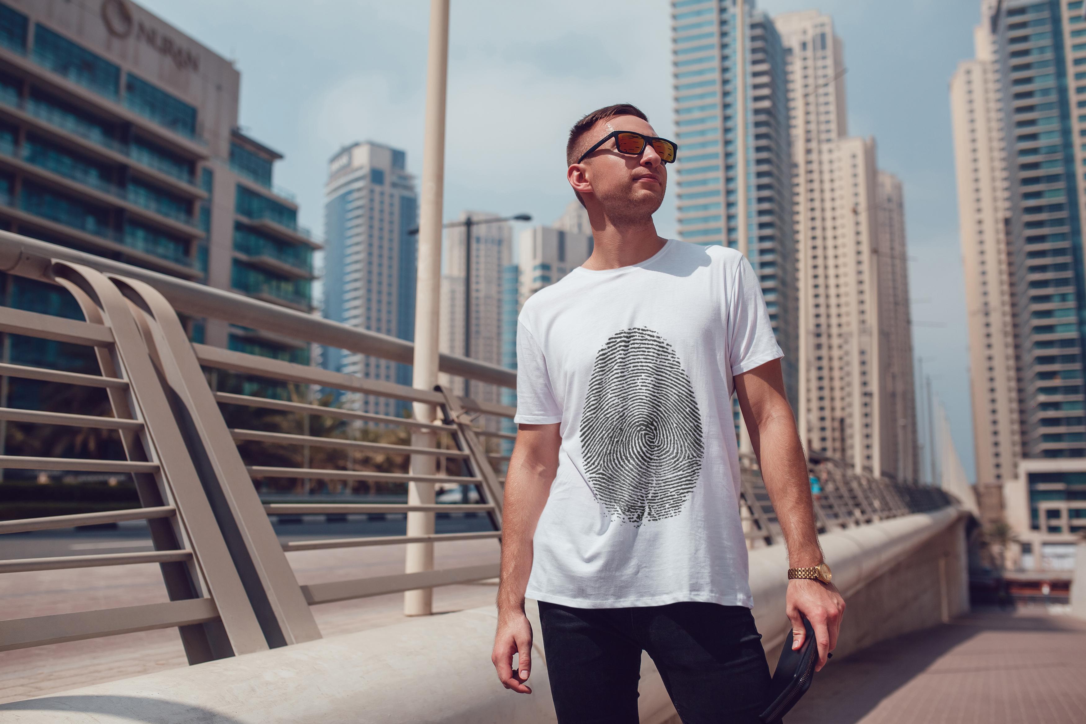 Men's T-Shirt Mock-Up Vol.5 2017 example image 15