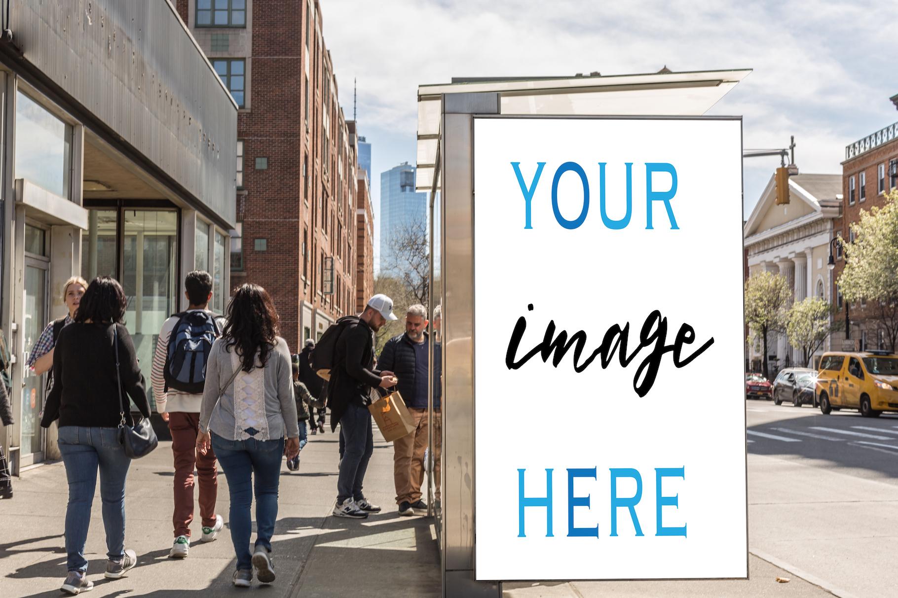 Set of 11 advertising billboard example image 8