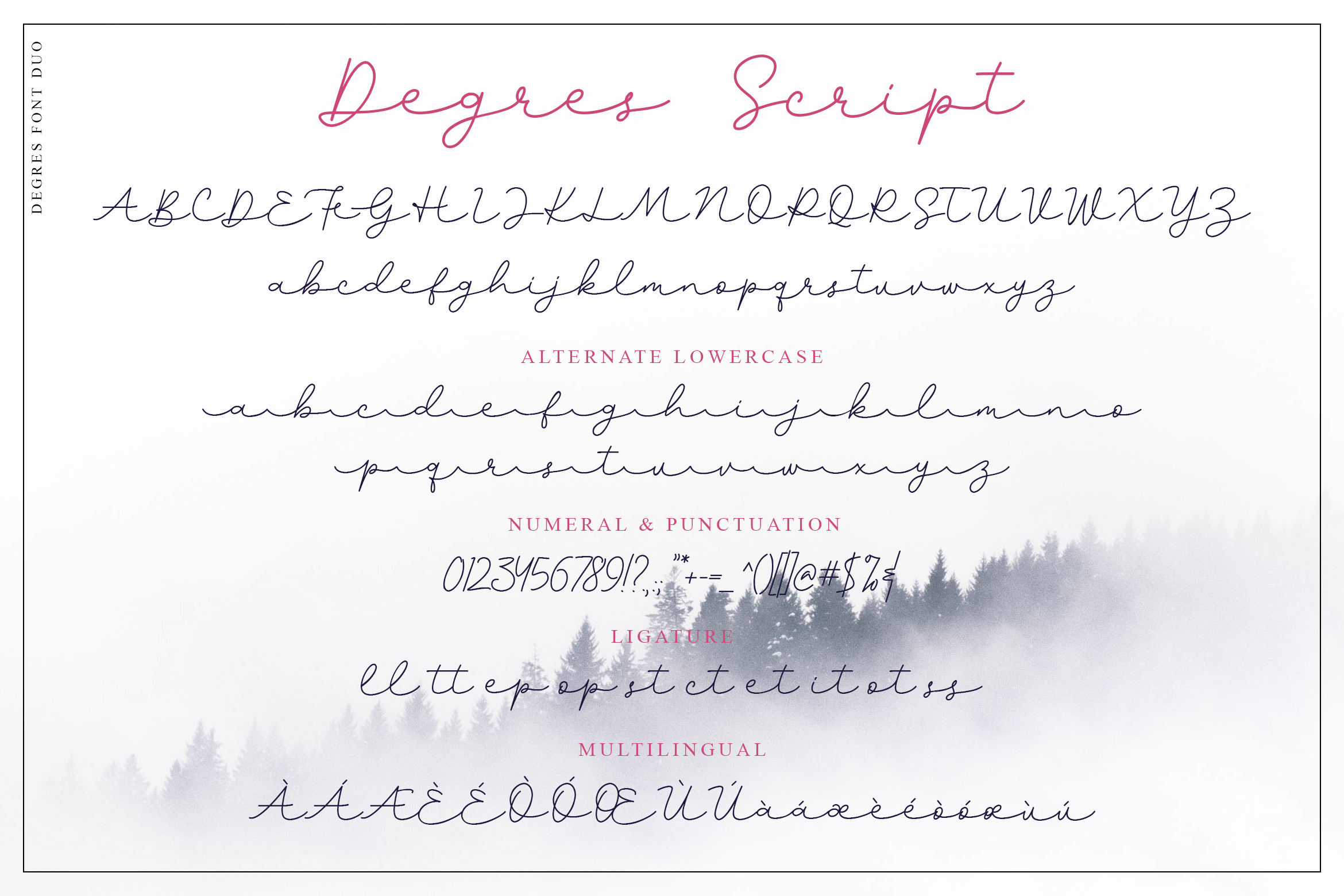 Degres Font Duo example image 8