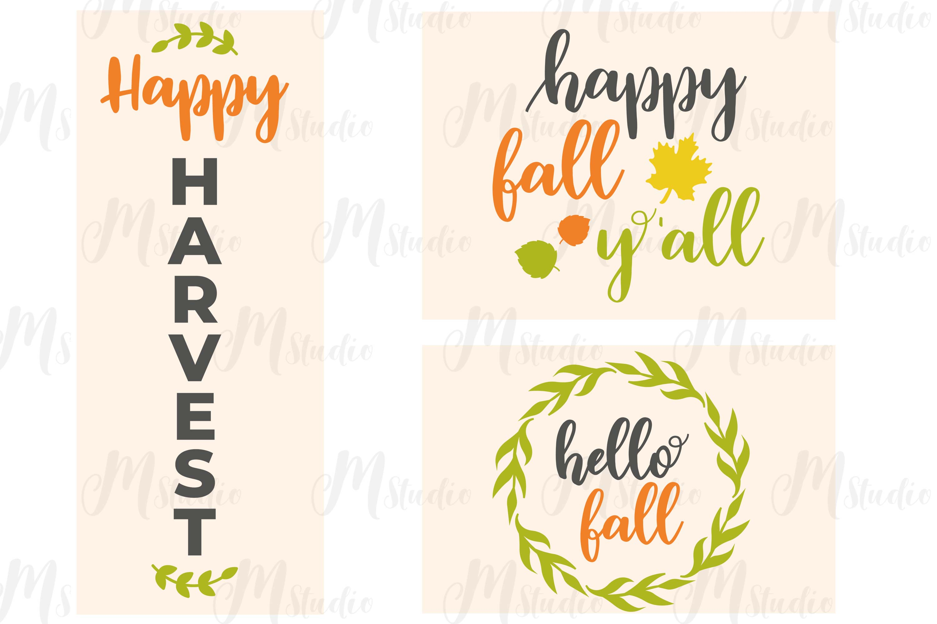 Fall SVG Bundle. example image 8