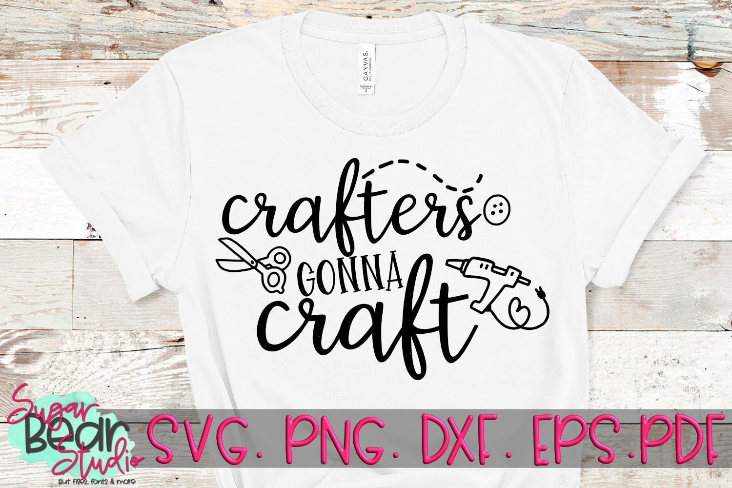 Crafters Gonna Craft - A Craft SVG example image 1