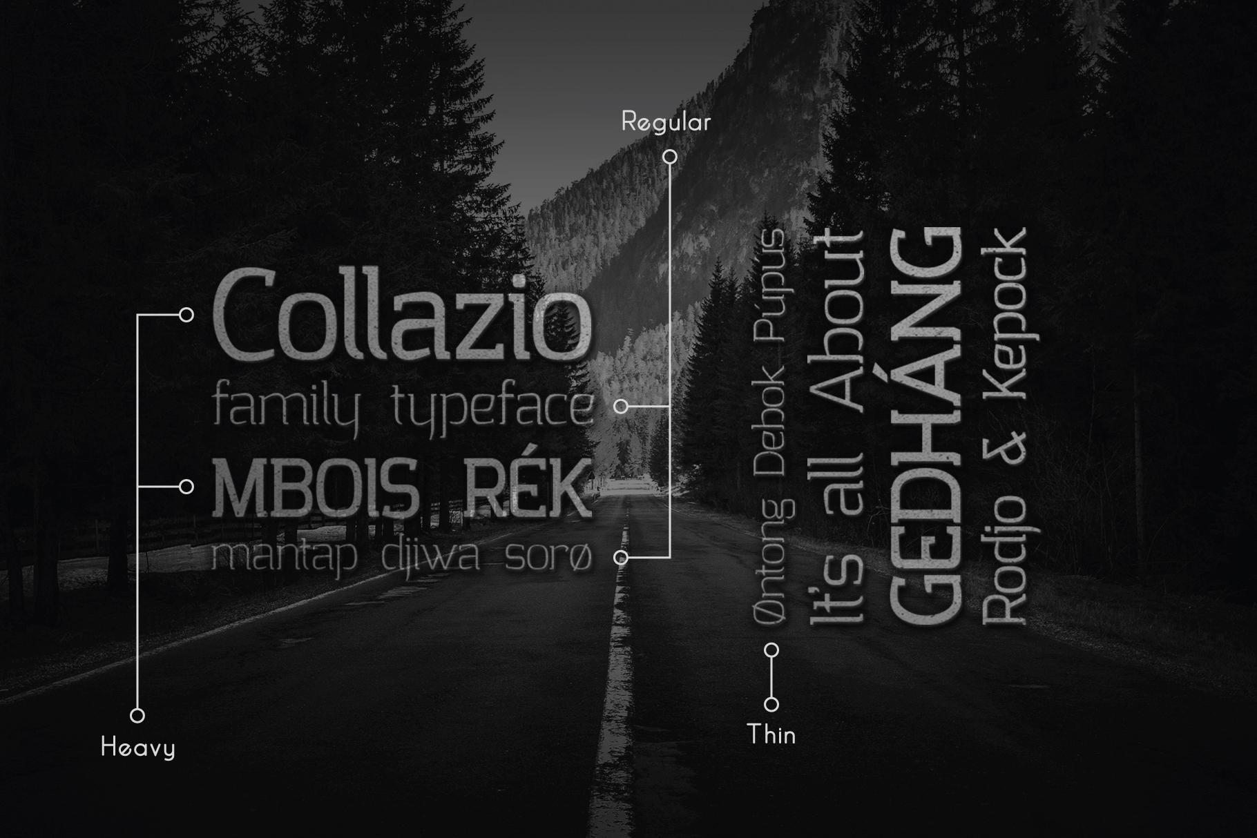 Collazio Serif Family Typeface example image 5