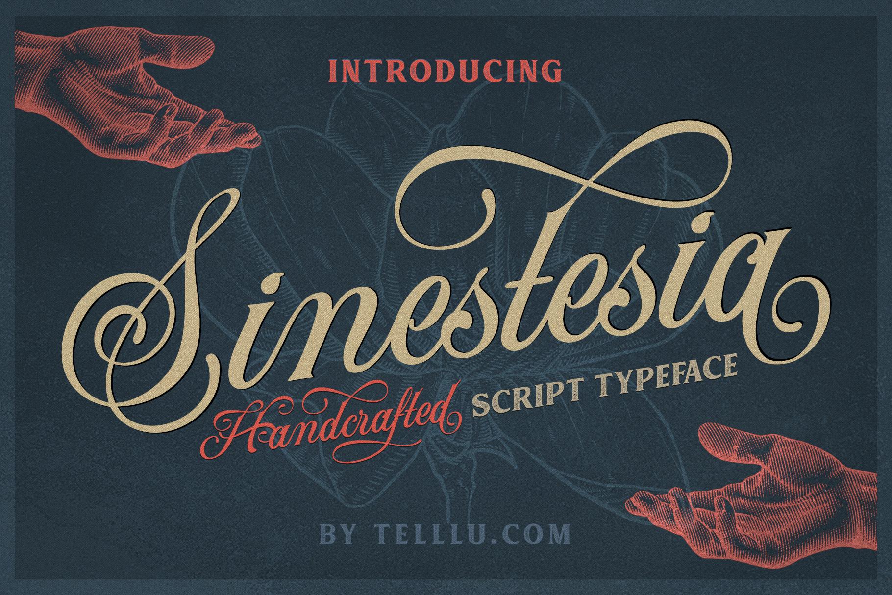 Sinestesia Script (40% OFF) example image 1