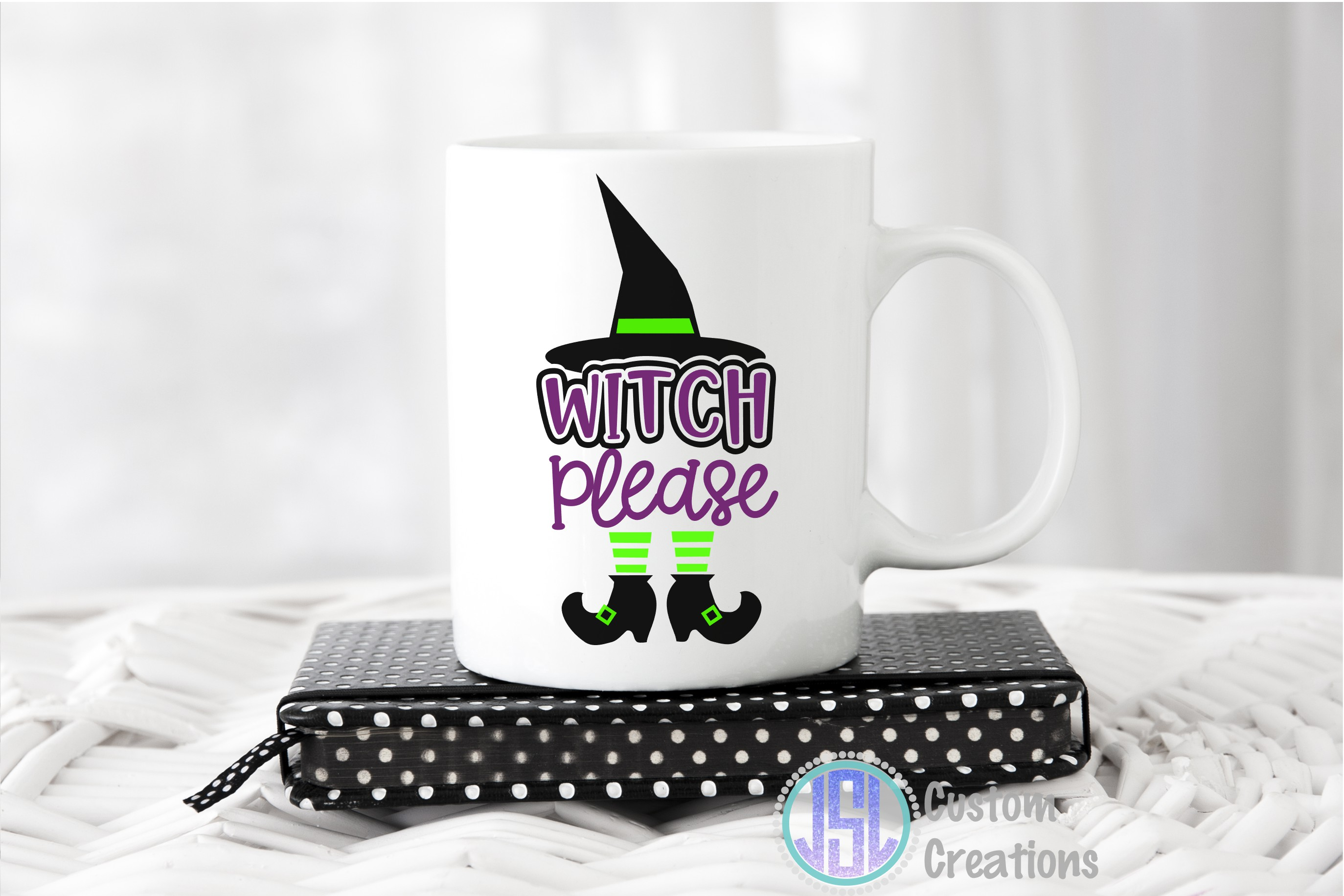 Witch Please| SVG DXF EPS PNG Cut File example image 2
